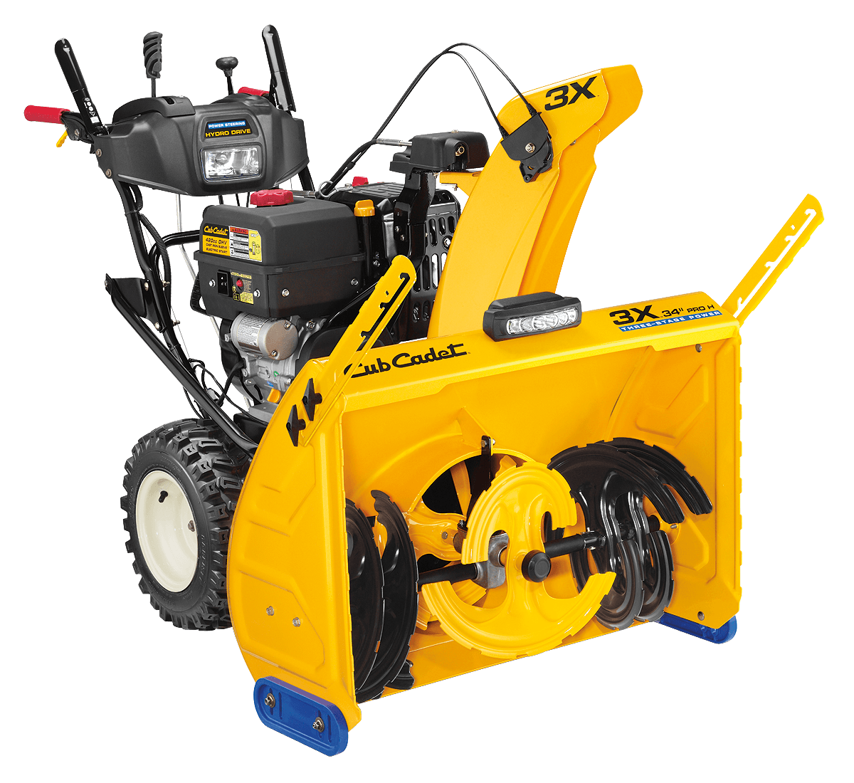 """Yellow Snow Blower >> New 2016 Cub Cadet 3X 34"""" PRO H Snowblowers in Lake Mills, IA 