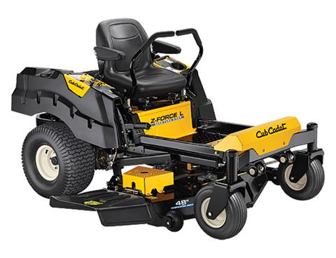2018 Cub Cadet Z-Force L 48 in. Kohler 7000 Series 24 hp in Sturgeon Bay, Wisconsin