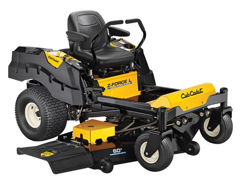 2018 Cub Cadet Z-Force L 60 in. Kohler 7000 Series 24 hp in Sturgeon Bay, Wisconsin