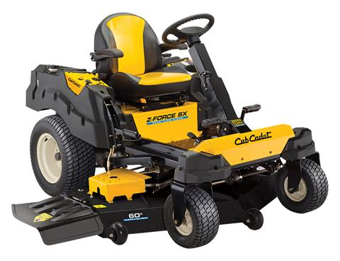 2018 Cub Cadet Z-Force SX 60 KW in Aulander, North Carolina