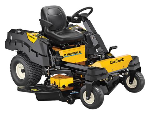 2018 Cub Cadet Z-Force S 48 in. Kawasaki FR Series 24 hp in Sturgeon Bay, Wisconsin