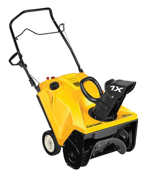 2018 Cub Cadet 1X 21 in. HP in Hillman, Michigan