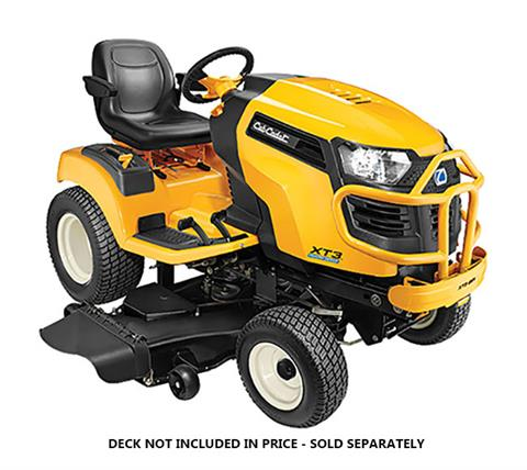 2019 Cub Cadet XT3 GSX 54 in. Kohler Command 25 hp in Hillman, Michigan