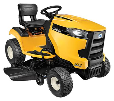 2019 Cub Cadet XT1 Enduro Series LT 46 in. EFI FAB Deck in Saint Johnsbury, Vermont
