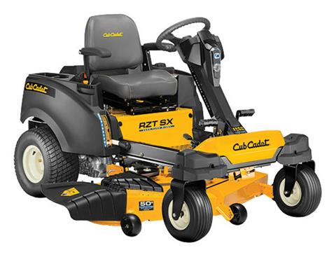 2019 Cub Cadet RZT SX 50 in. Kohler 7000 Series 24 hp in Berlin, Wisconsin