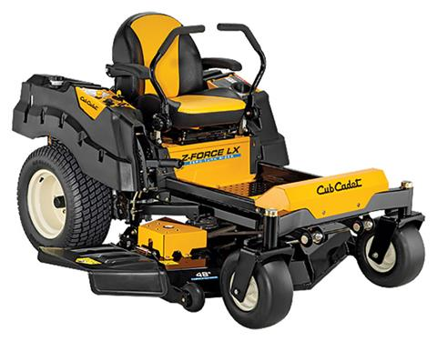 2019 Cub Cadet Z-Force LX 48 in. Kawasaki FR Series 24 hp in Brockway, Pennsylvania