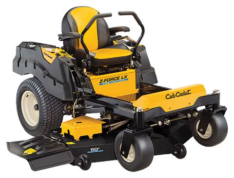 2019 Cub Cadet Z-Force LX 60 in. Kawasaki FR Series 24 hp in Aulander, North Carolina