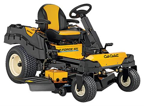 2019 Cub Cadet Z-Force SX 48 in. Kawasaki FR Series 24 hp in Aulander, North Carolina
