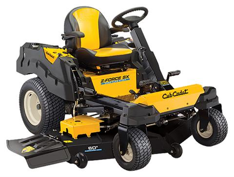 2019 Cub Cadet Z-Force SX 60 in. Kawasaki FR Series 24 hp in Brockway, Pennsylvania