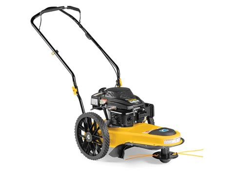 Cub Cadet ST 100 Wheeled String Trimmer in Hillman, Michigan