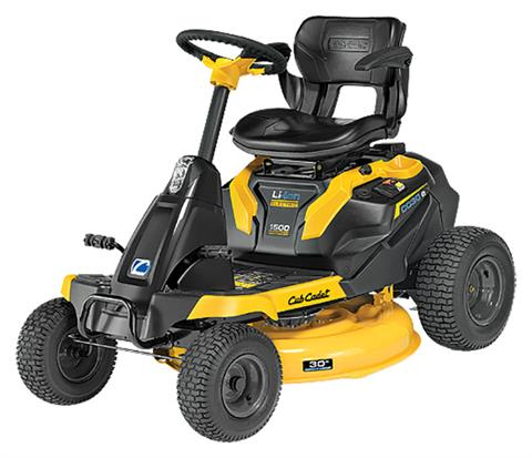 2020 Cub Cadet CC 30 in. E Electric Rider in Greenland, Michigan - Photo 2