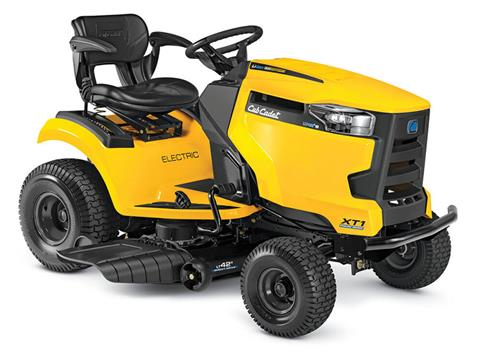 2020 Cub Cadet LT42 E 42 in. Electric Riding Mower in Hillman, Michigan