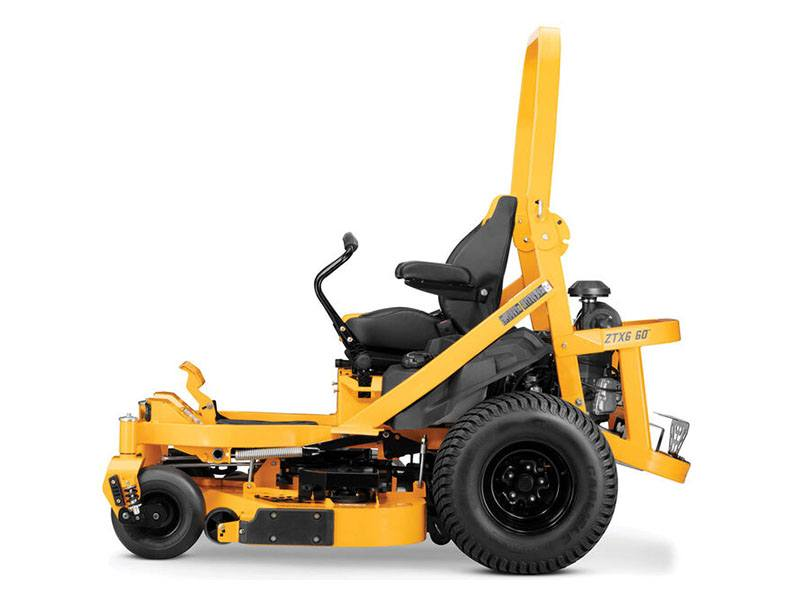 2020 Cub Cadet ZTX6 60 in. Kawasaki FX 25.5 hp in Brockway, Pennsylvania - Photo 5