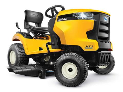 2021 Cub Cadet XT1 LT42 42 in. Kohler 5400 Series 18 hp in Hillman, Michigan