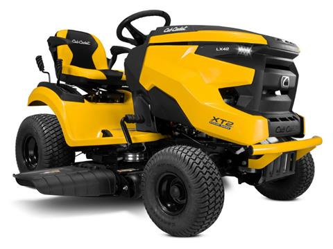 2021 Cub Cadet XT2 LX42 42 in. Kawasaki FR600V 18 hp in Hillman, Michigan