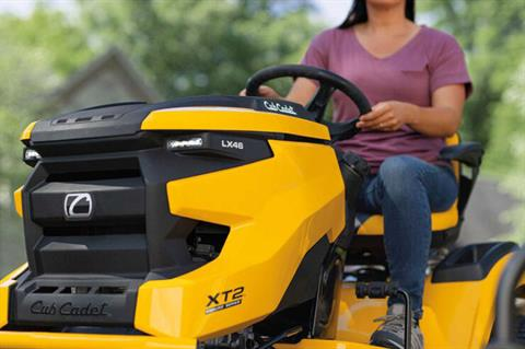2021 Cub Cadet XT2 LX46 46 in. Kawasaki FR651V 21.5 hp in Prairie Du Chien, Wisconsin - Photo 7