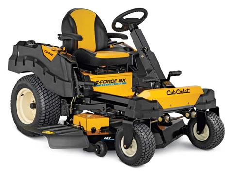 2021 Cub Cadet Z-Force SX 48 in. Kawasaki FR730V 24 hp in Sturgeon Bay, Wisconsin