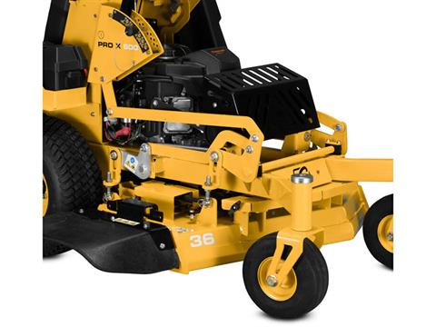 2021 Cub Cadet Pro X 636 36 in. Kawasaki FS600V 18.5 hp in Prairie Du Chien, Wisconsin - Photo 6