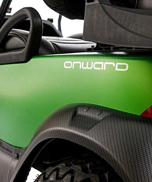 2018 Club Car Onward Matte Synergy Graphite Special Edition (Electric) in Aulander, North Carolina