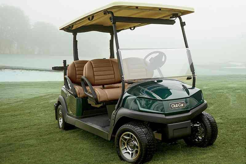 2018 Club Car Tempo 4Fun Electric in Gaylord, Michigan