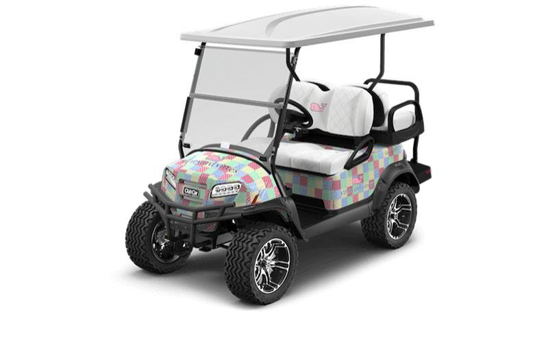 2018 Club Car Onward Vineyard Vines 4 Pass Lifted Electric in Aulander, North Carolina