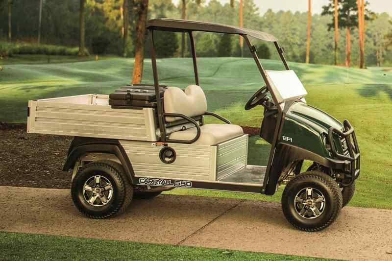 New 2018 club car carryall 550 turf gasoline utility for Lakeland motor vehicle and driver license services lakeland fl