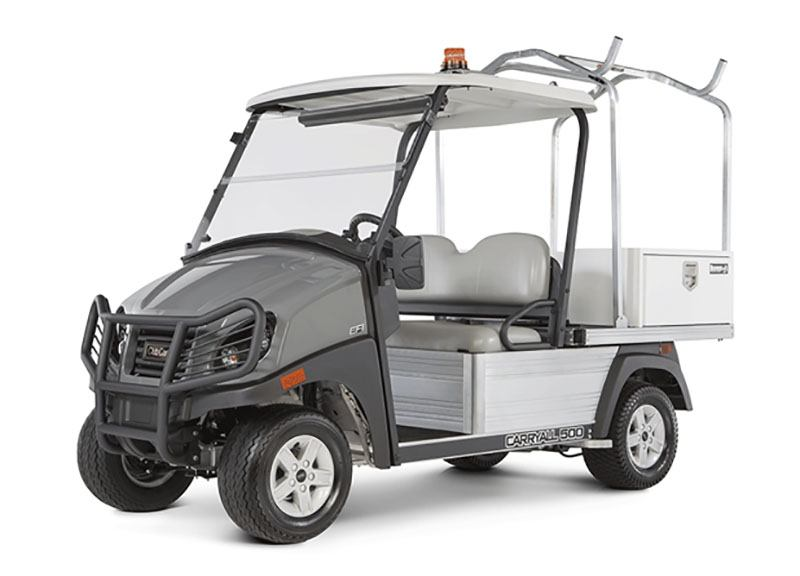 2019 Club Car Carryall 500 Facilities-Engineering with Tool Box System Gas in Bluffton, South Carolina