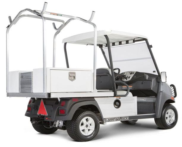 2019 Club Car Carryall 500 Facilities-Engineering with Tool Box System Electric in Bluffton, South Carolina
