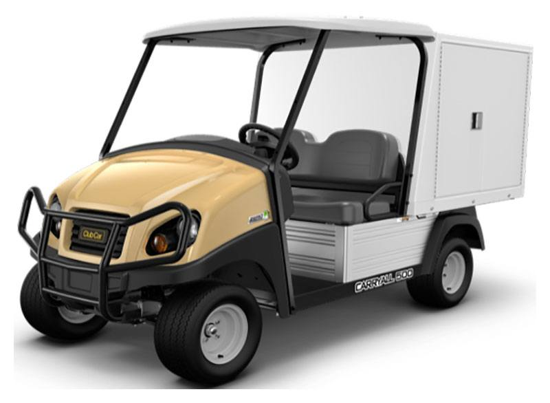 2019 Club Car Carryall 500 Facilities-Engineering with Van Box System Electric in Brazoria, Texas