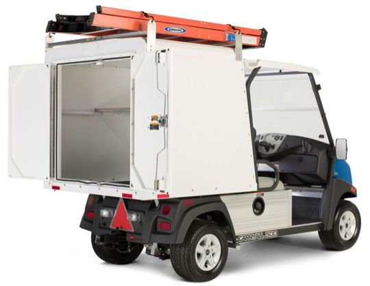 2019 Club Car Carryall 500 Facilities-Engineering with Van Box System Gas in Otsego, Minnesota