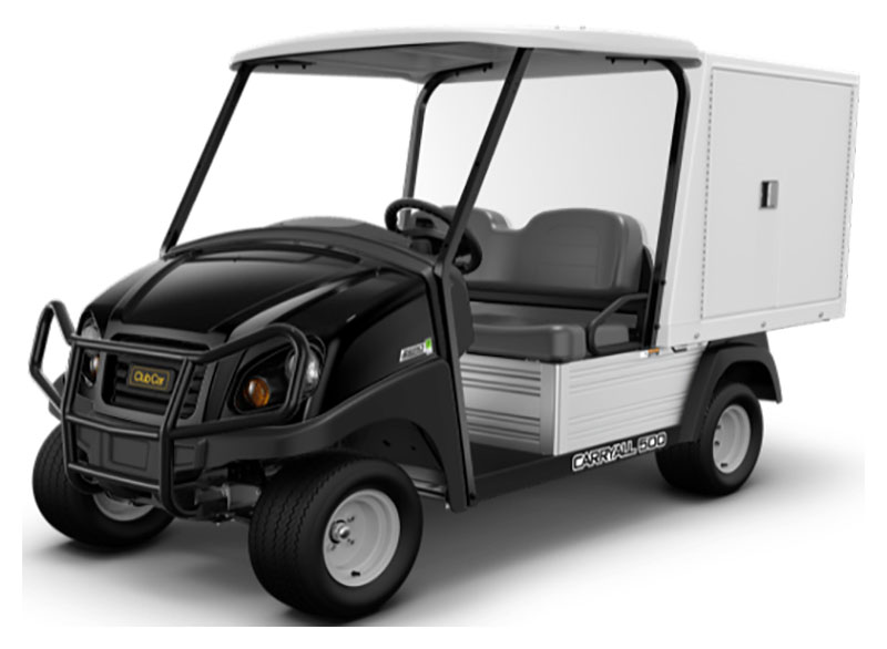 2019 Club Car Carryall 500 Facilities-Engineering with Van Box System Electric in Kerrville, Texas - Photo 1
