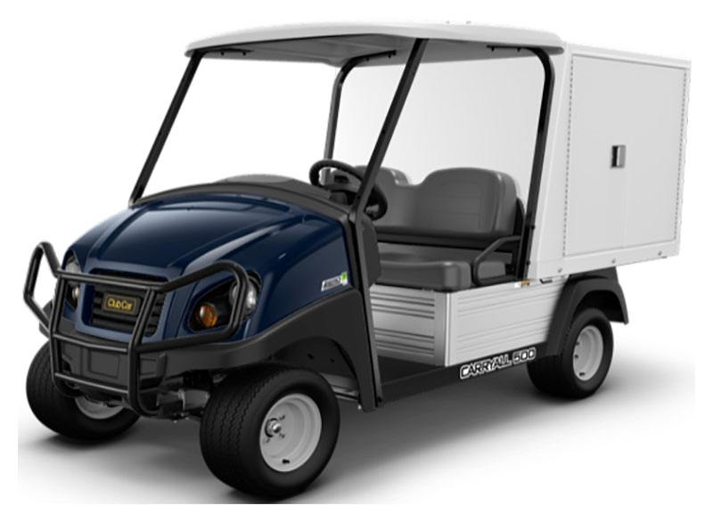 2019 Club Car Carryall 500 Facilities-Engineering with Van Box System Gas in Kerrville, Texas
