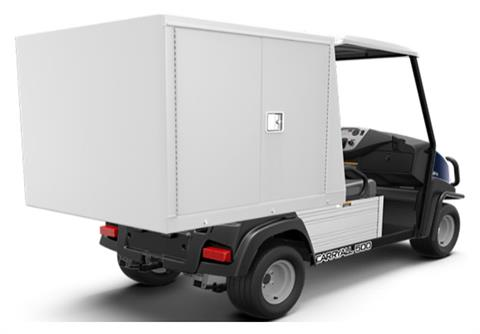 2019 Club Car Carryall 500 Facilities-Engineering with Van Box System Gas in Douglas, Georgia