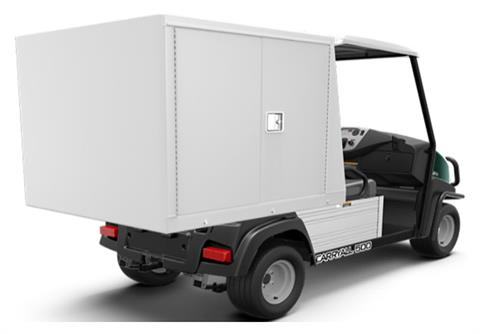2019 Club Car Carryall 500 Facilities-Engineering with Van Box System Electric in Lakeland, Florida