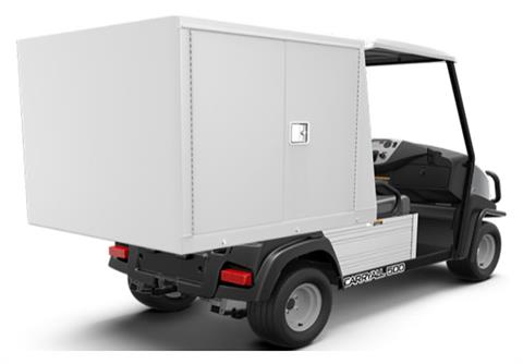 2019 Club Car Carryall 500 Facilities-Engineering with Van Box System Electric in Kerrville, Texas