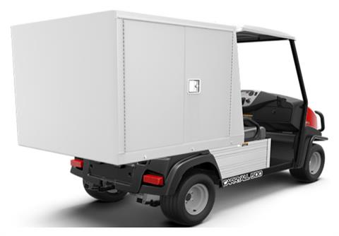 2019 Club Car Carryall 500 Facilities-Engineering with Van Box System Electric in Lakeland, Florida - Photo 2