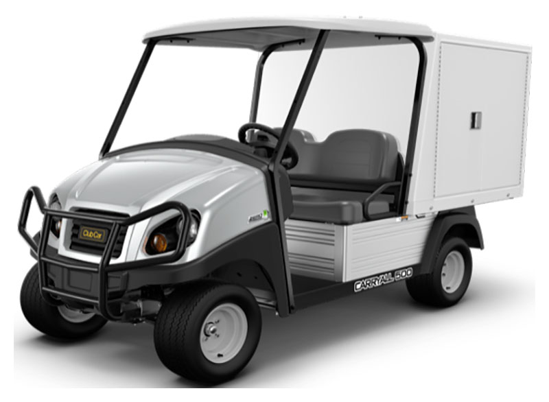 2019 Club Car Carryall 500 Facilities-Engineering with Van Box System Electric in Bluffton, South Carolina