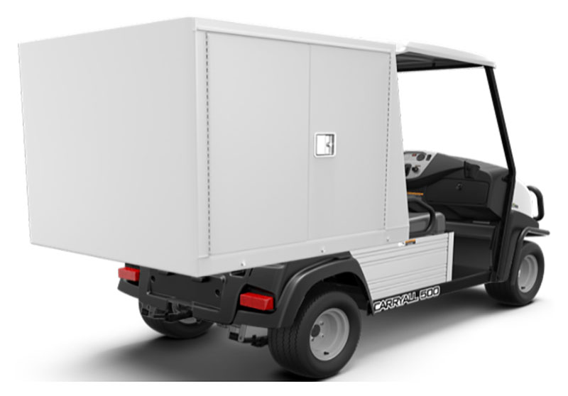 2019 Club Car Carryall 500 Facilities-Engineering with Van Box System Electric in Aitkin, Minnesota