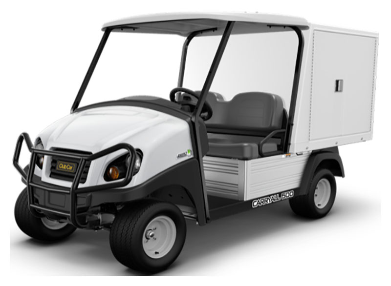 2019 Club Car Carryall 500 Facilities-Engineering with Van Box System Gas in Brazoria, Texas