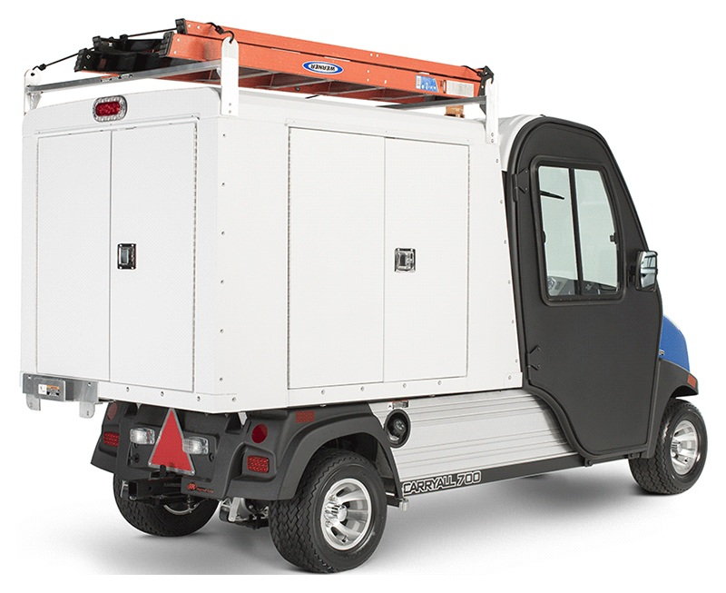 2019 Club Car Carryall 700 Facilities-Engineering Vehicle with Tool Box System Electric in Kerrville, Texas