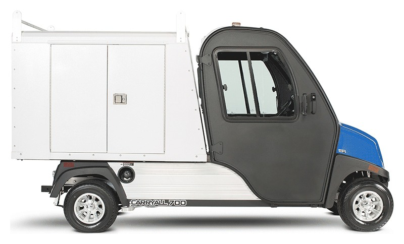 2019 Club Car Carryall 700 Facilities-Engineering Vehicle with Tool Box System Electric in Douglas, Georgia