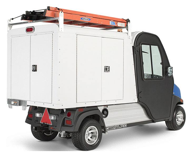 2019 Club Car Carryall 700 Facilities-Engineering Vehicle with Tool Box System Electric in Brazoria, Texas - Photo 5