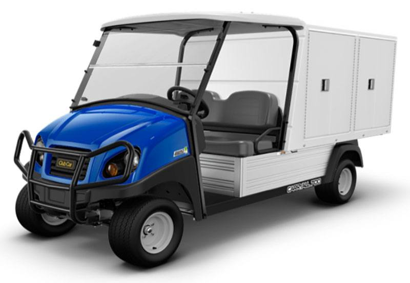 2019 Club Car Carryall 700 Facilities-Engineering with Van Box System Electric in Lakeland, Florida - Photo 1