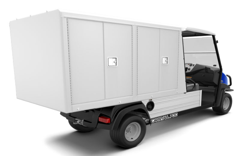2019 Club Car Carryall 700 Facilities-Engineering with Van Box System Gas in Bluffton, South Carolina