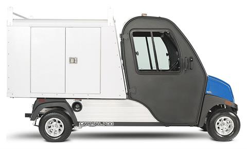 2019 Club Car Carryall 700 Facilities-Engineering with Van Box System Electric in Douglas, Georgia