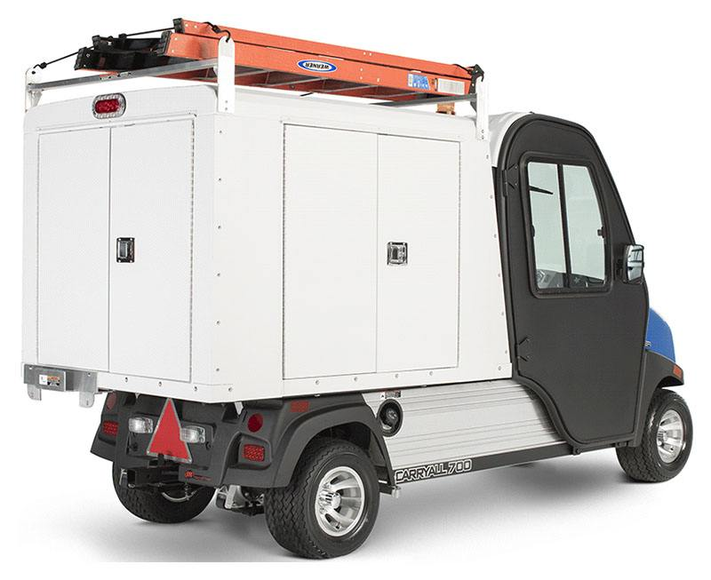 2019 Club Car Carryall 700 Facilities-Engineering with Van Box System Electric in Brazoria, Texas