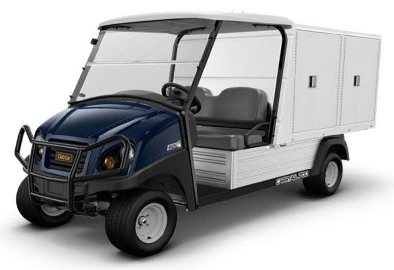 2019 Club Car Carryall 700 Facilities-Engineering with Van Box System Electric in Kerrville, Texas - Photo 1