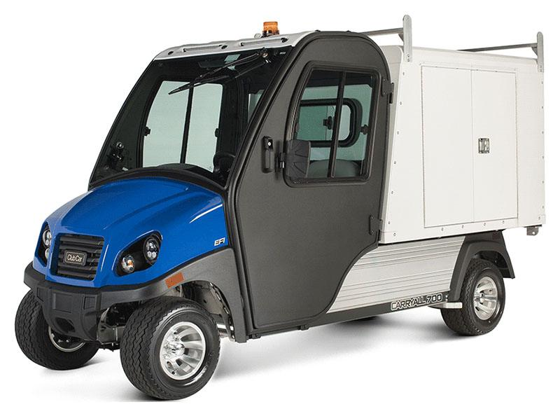 2019 Club Car Carryall 700 Facilities-Engineering with Van Box System Gas in Ruckersville, Virginia