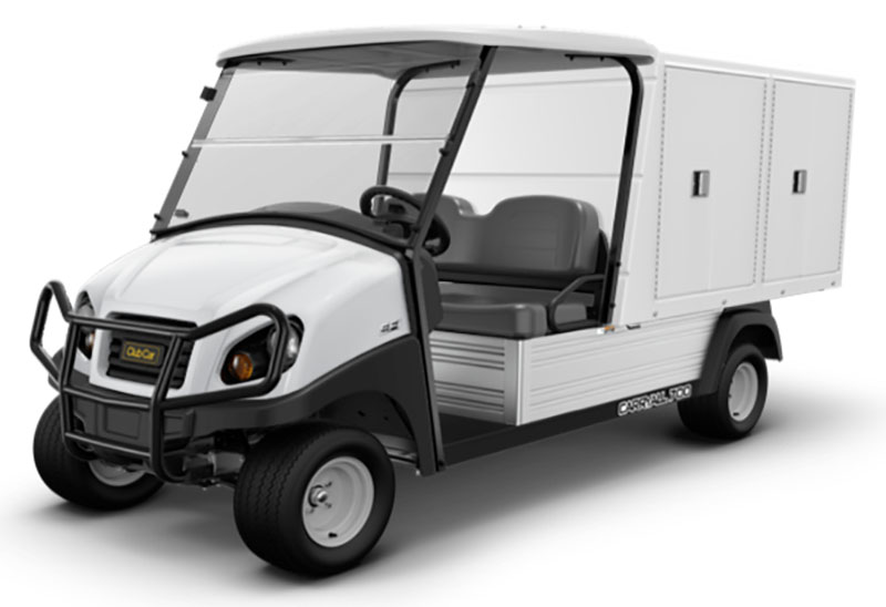 2019 Club Car Carryall 700 Facilities-Engineering with Van Box System Gas in Kerrville, Texas - Photo 1