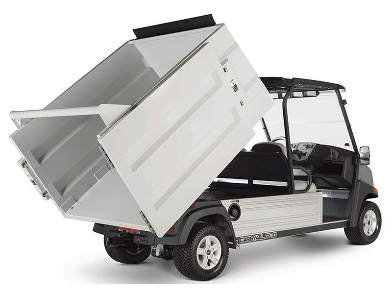 2019 Club Car Carryall 700 Refuse Removal Gas in Bluffton, South Carolina